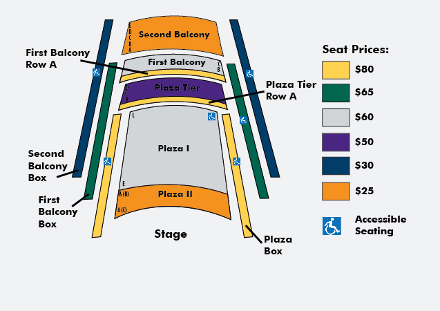 Kimmel Center Seating Chart
